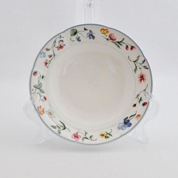 vintage cereal bowl villeroy and boch mariposa 1748. Black Bedroom Furniture Sets. Home Design Ideas