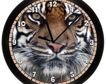 Decorative Tiger Wall Clock
