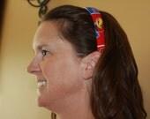Kansas University Jayhawks Headband/Hair Accessory