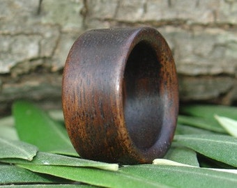 Wood Ring Size 9 - Palisander  Wood Ring