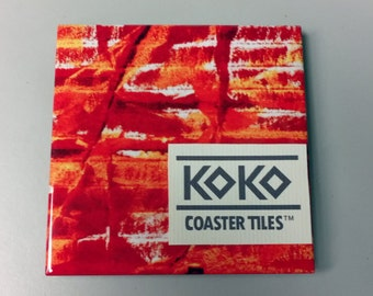Koko Coaster Tile No. 14 One Tile