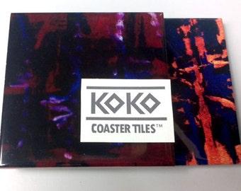 Koko Coaster Tiles 2-Combo - Ghana Groove