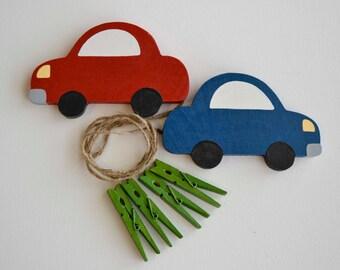 Cars Art Organizer, Transportation Artwork Hanger, Art Display