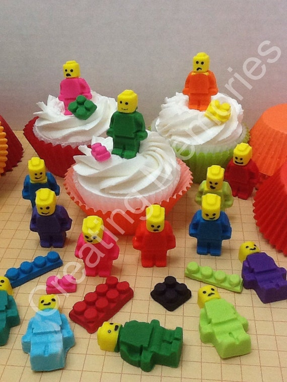 Mix Edible LEGOS For Cupcake Cookies or Cake by anafeke on ...