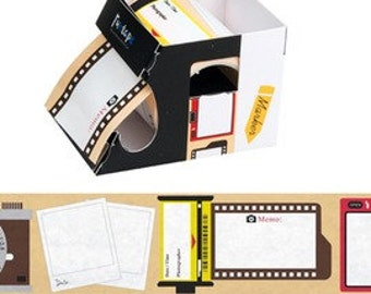 Cameraman Sticky Notes / Writable Tape / Memo Paper / Post-it