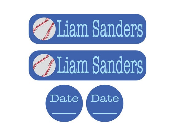 520 Disposable Date Labels for Daycare Label Requirements - Removable one-time use waterproof labels