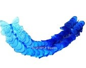 EDIBLE BUTTERFLY Cake Topper, Blue OMBRE Edible Butterflies, Cake Supplies, Decorations, Christening Cake Decorations