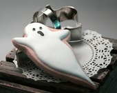 Ghost Shape Stainless Steel Cookie Cutter