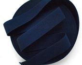 "2 1/4"" Navy Blue Stretch Elastic Band"