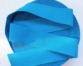 """3"""" Deep Sky Blue Stretch Elastic Band. (1 Yard)"""