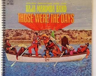 Recycled Record Album Cover Book-Baja Marimba Band
