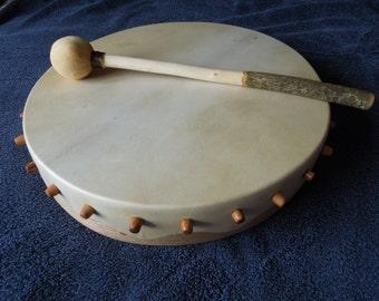 Peg style Shamanic Drum