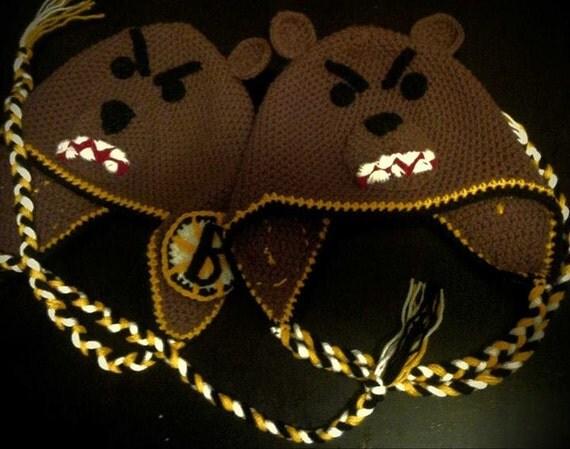Boston Bruins Angry Bear Hat