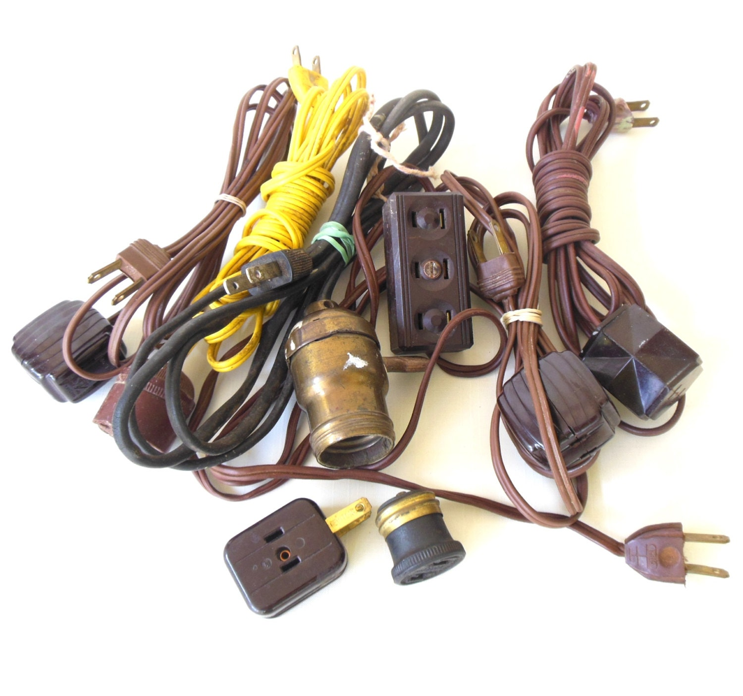 Extension Cords Vintage Electrical Outlet By Lauraslastditch