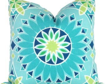 Trina Turk Decorative Pillow Cover LA Soleil Designer Indoor Outdoor, Schumacher, 18x18, 20x20,22x22, Throw pillow, Toss pillow, pool pillow