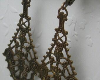 Earrings - Brass Renissance