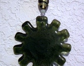 Medallion Green Recycled Bottle Glass