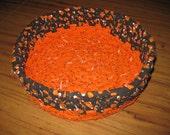 Halloween Candy Bowl Cloth Basket