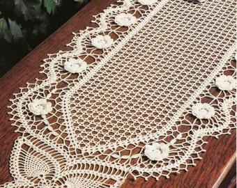 Crochet Doily Table Etsy