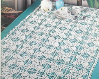 crochet doily, table decoration, center piece , table runner  PATTERN   (chart with  explanations )