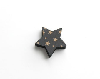 Gold Star Die Cuts, Wedding Table Decor, Paper Goods