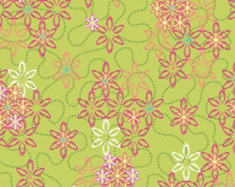 90042-  Free Spirit Design Loft - Garden collection -Promenade in spring color- 1 yard