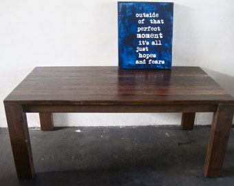 Beautiful Reclaimed Wood Dining Table. modern.loft. Made in LA