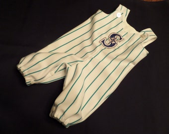 Infant and Toddler Baseball Outfit with Free Personalization
