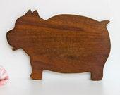 Cutting board - Pig shape
