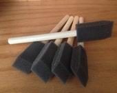 """Foam Brushes, 1"""" wide, 10-Pack"""