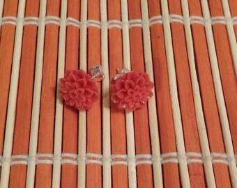 Flower Earring Pair