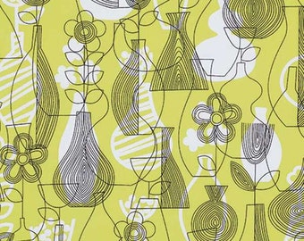 SALE - Astrid - Chartreuse Lena by Erin McMorris from Free Spirit