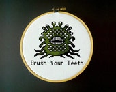 Brush Your Teeth - Great Malboro - Cross Stitch Pattern