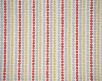 Storybook Two Pebble Stripe Organic Cotton, 1 yard