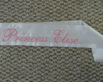 Custom Kids Sash