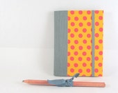 Custom Color Undated Weekly Planner  - I see Spots -  A6 / small size