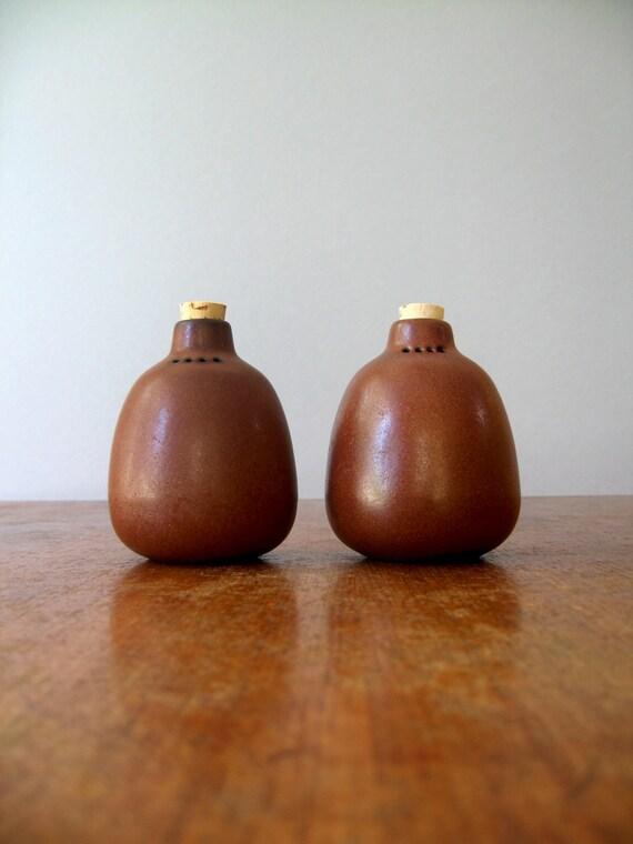 Vintage Ceramic Salt And Pepper Shakers Vintage Heath Ceramics Salt