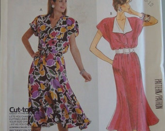 Vintage McCall's Womens Sewing Pattern 3158  size  8-12 Uncut