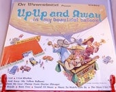 Record Der Weinerschnitzel Up-Up and Away In My Beautiful Balloon Promotional LP Album Mark 56 Records
