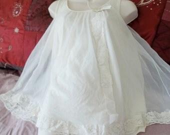Vintage 1950s Light Yellow Baby Doll Nightie by Shadowline Size Medium Wedding Sweet Romance Innocent Marilyn Monroe Burlesque