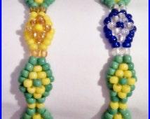 "Santeria Yoruba ORISHAS. ""IKOFA"" (hand of Orula) Bracelet  for WOMEN. Pulsera  Idde ""mano de Orula""."