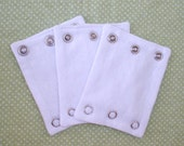 BODYSUIT EXTENDERS/ EXPANDERS.  Add a size to your bodysuits. Also great for cloth diaper wearers.