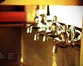 "Rail Car Photographs ""Faucets Run Dry"" Industiral Decor Kitchen Wall Hanging 8X12  Train Car"