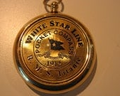 RMS TITANIC 1912 Brass Pocket COMPASS- Beautiful Working Model