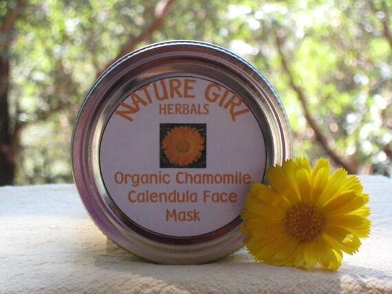 Calendula and Chamomile Face Mask 8oz
