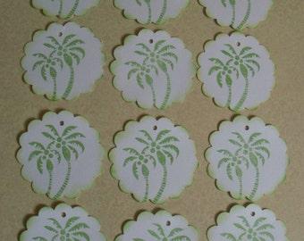 Island Palms Gift Tags