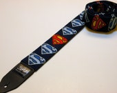 Comic book super hero handmade double padded guitar strap - This is NOT a licensed product