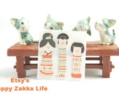Scrapbooking Journaling Spot - Mini Maker Collection - Chinese  Doll - 3 x 10 Sheets