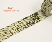 Vintage Draft - Japanese Washi Masking Tape - 5.5 Yards