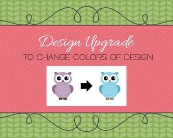 Design Upgrade - Color Change